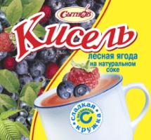 Лесная ягода кисель