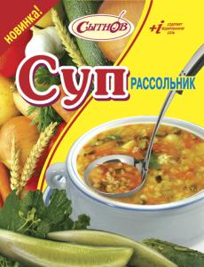 Суп рассольник быстрого приготовления
